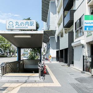地下鉄鶴舞線「丸の内」駅2番出口
